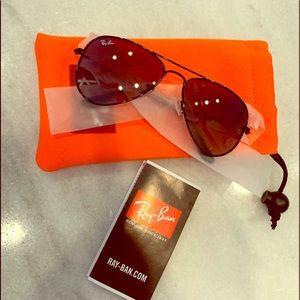 NWT Youth Ray-ban Aviator 🕶 Sunglasses 😎